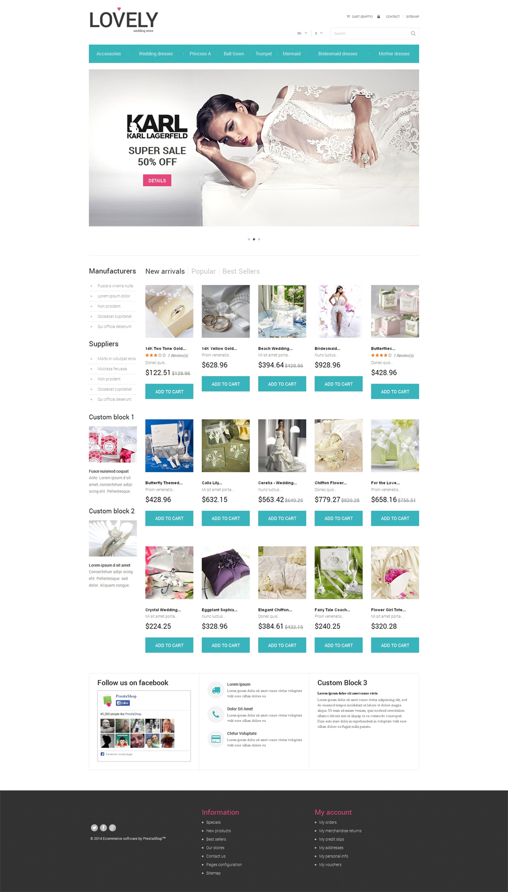 free flower store template