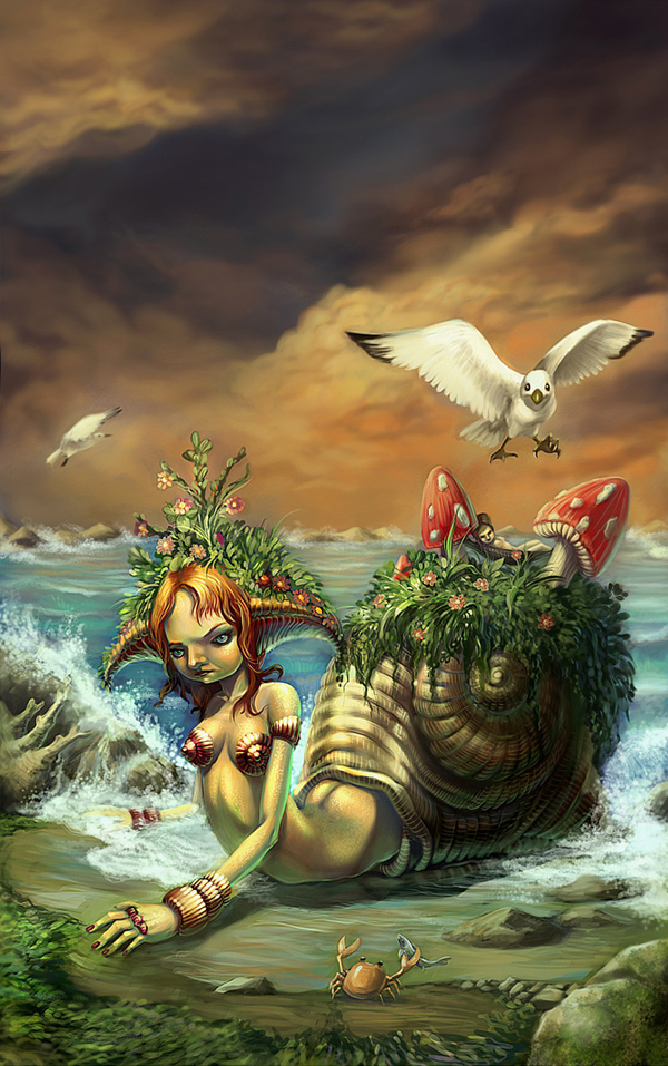 fantazy mermaid
