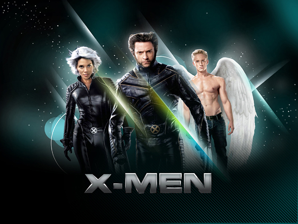 X-MEN movie poster  photoshop movie effects tutorials