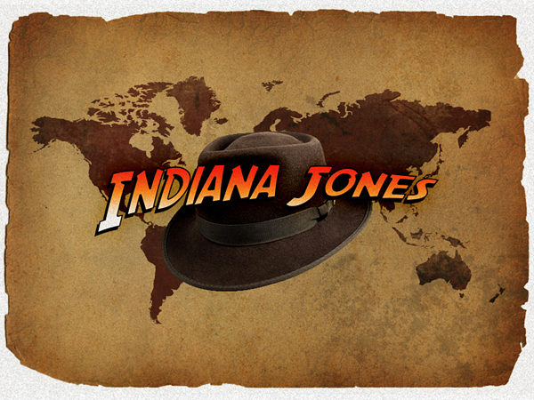 Indiana Jones Movie Logo/Text Effect